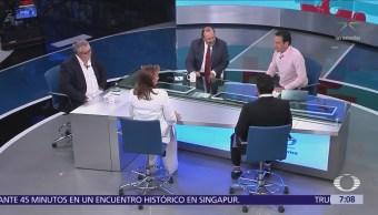 Ruiz Massieu, Preciado, Cantú y Torres, mesa política en Despierta