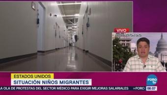 Situación Niños Migrantes Eu Corresponsal Washington Ariel Moutsatsos