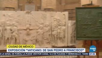Inaugurarán Exposición Vaticano CDMX Arte Cultura