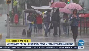 Cdmx Pide Población Estar Alerta Ante Lluvias