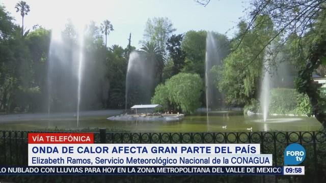 Prevé Descenso Temperaturas México Elizabeth Ramos,