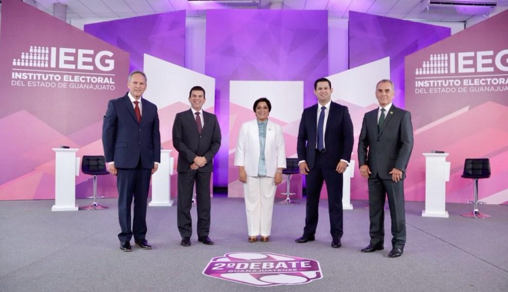 Segundo Debate Guanajuato, Candidatos Guanajuato, Debate Guanajuato, Candidatos Gubernatura, Guanajuato, IEEG