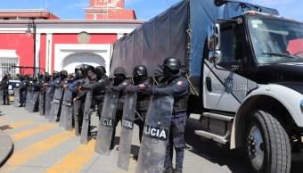 SSP de Puebla asume la seguridad en Ciudad Serdán