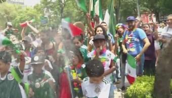 Siguen Festejos Triunfo Selección Mexicana Cdmx