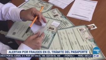 SRE Alerta Fraudes Trámites Pasaportes Corrupción