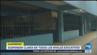 Suspenden Clases Escuelas Guerrero Lluvias