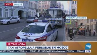 Taxista Atropelló Multitud Rusia Detenido Aficionados