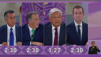 Tercer Debate Presidencial Candidatos Merida Yucatán