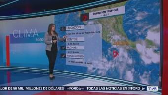 Tiempo Raquel Méndez 'Bud' Degradó Viernes