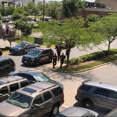 Se registra tiroteo diario Capital Gazette en Maryland; reportan varios muertos