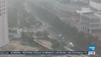 Tormenta tropical 'Bud' se aproxima a Baja California