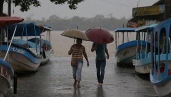 Ondas tropicales 8 y 9 provocarán tormentas intensas en México