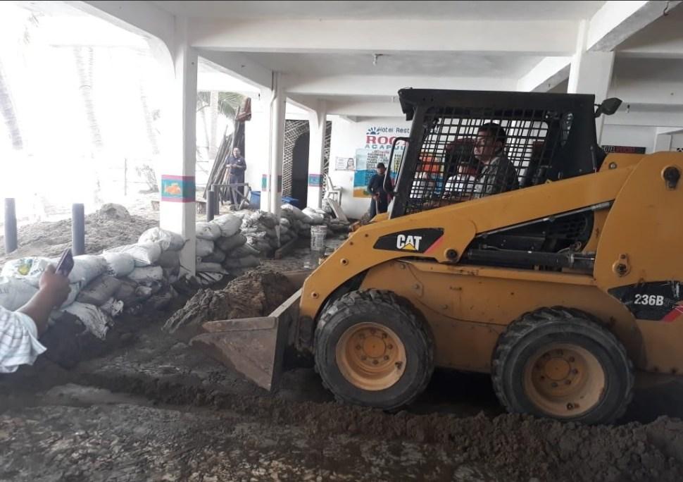 Huracán 'Bud' deja afectaciones en costas de Guerrero