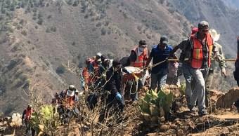 Continúa búsqueda de cinco mineros desaparecidos derrumbe