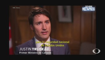 Justin Trudeau parafrasea Ricardo Anaya Aranceles