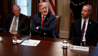 Familias migrantes esperan decisión de Trump
