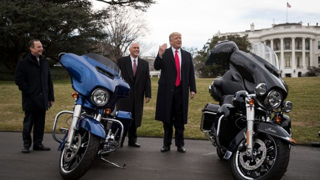 Trump Harley aranceles UE excusa salir Estados Unidos