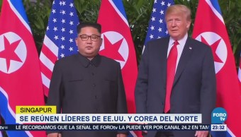 Trump y Kim se reúnen con