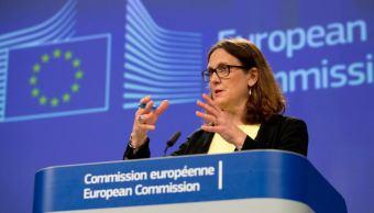 UE impondrá aranceles en respuesta a EU este viernes
