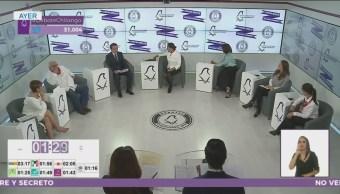 Último debate entre candidatos a Jefatura de Gobierno de CDMX
