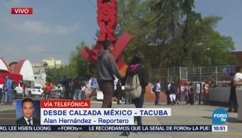 Manifestantes Se Reúnen Estación Metro Normal Alconazo