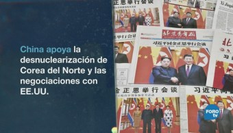 China Recibe Y Felicita A Kim Jong-Un