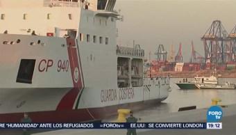 Valencia recibe a los 630 migrantes rescatados