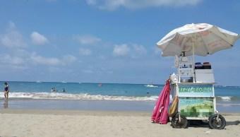 vendedores acapulco sufren estragos ola calor