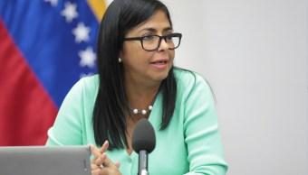 UE sanciona vicepresidenta venezolana y 10 funcionarios