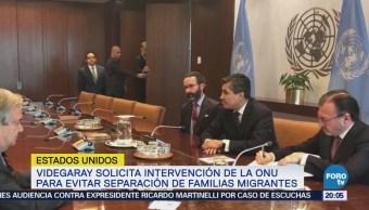 Videgaray Se Reúne António Guterres ONU