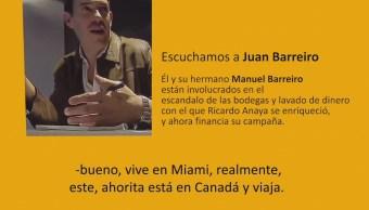Video Nexos Ricardo Anaya Manuel Barreiro