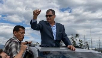 Vinculan expresidente Rafael Correa secuestro exlegislador