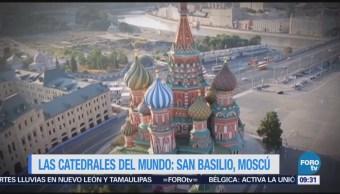 Visite a la catedral de San Basilio, Rusia