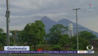 Volcanes cercanos al de Fuego en Guatemala registran actividad
