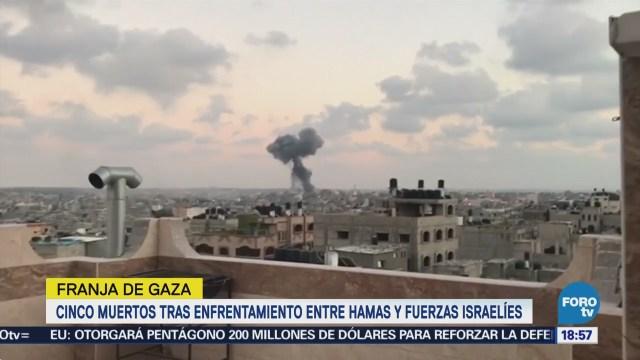 Hamas Israel Acuerdan Alto Fuego Gaza