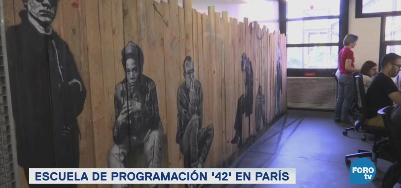 '42', una escuela de programación sin clases ni maestros