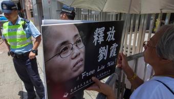 China libera a Liu Xia, viuda de Liu Xiaobo