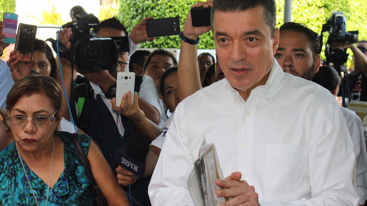 Rutilio Escandón Cadenas, virtual ganador de Chiapas