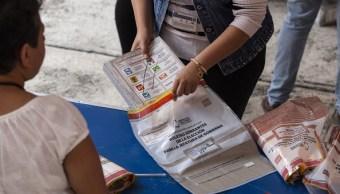 Detienen a 10 por intento de robo de material electoral
