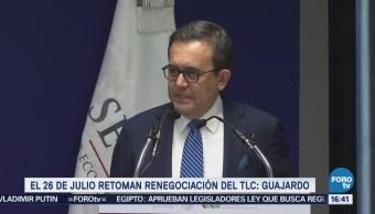 Finales Julio Retomarán Renegociación Tlcan México