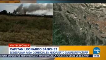 Aún Desconoce Posible Causa Accidente Aéreo Durango