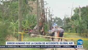 Accidente Avión Cubano Fue Causado Error Humanos
