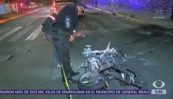 Accidente de motocicleta en Puebla deja dos muertos
