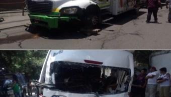 chofer camion choco xochimilco topilejo podria quedar libertad