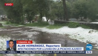 Graniza Carretera Picacho-Ajusco