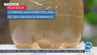 Agua turbia genera mayores gastos habitantes