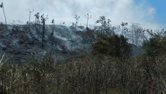 Alertan de fumarolas en basureros de Veracruz