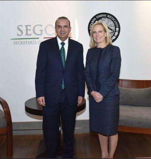 México y EU coinciden impulsar temas migratorios, Navarrete