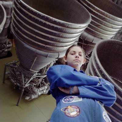 Esta adolescente se prepara para ser la primera en pisar Marte