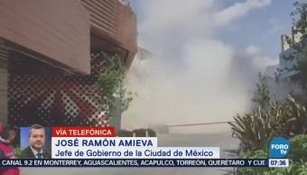 Amieva: CDMX revisará estructura plaza Artz Pedregal